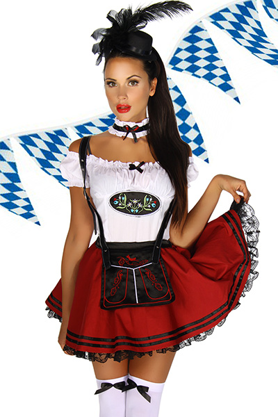 Oktoberfest Costume for Beer Stein Beauties