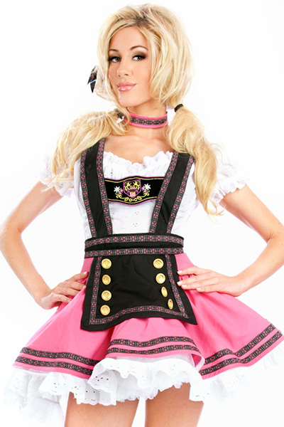 Girls Oktoberfest Womens Costume