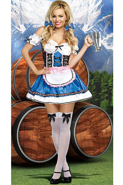 German Beauty Oktoberfest Costume