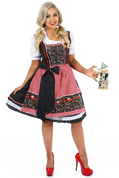 Red Beer Girl Oktoberfest Womens Costume